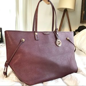 Henri Bendel west 57th xl travel saffiano tote